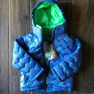 NWT LL Bean Downtek Little Girls's Jacket
